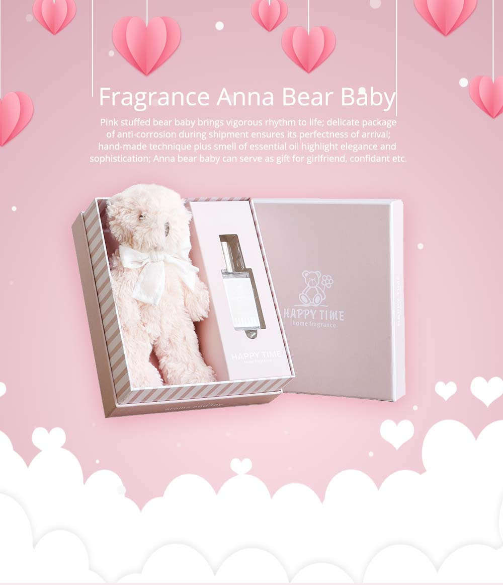Romantic Gift Fragrance Anna Bear Baby for Girlfriend Confidant, Creative Gift Box for Birthday 6