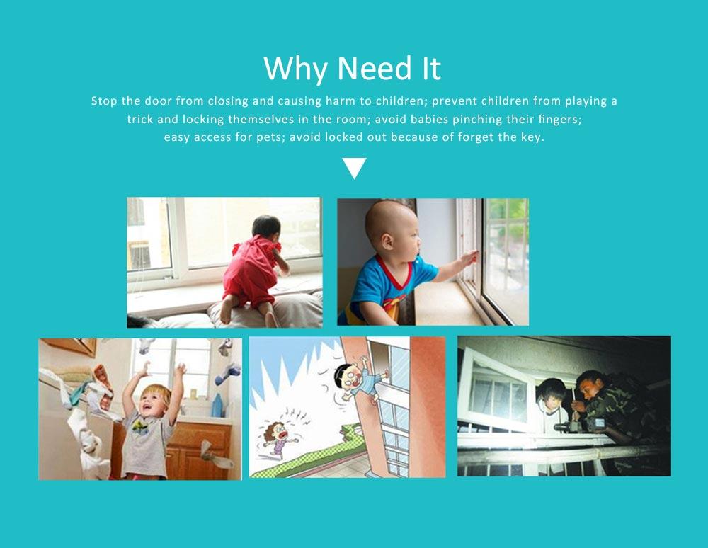 Children Safety Lock for Sliding Door Push Window, Children's Articles Door and Window Stopper 12