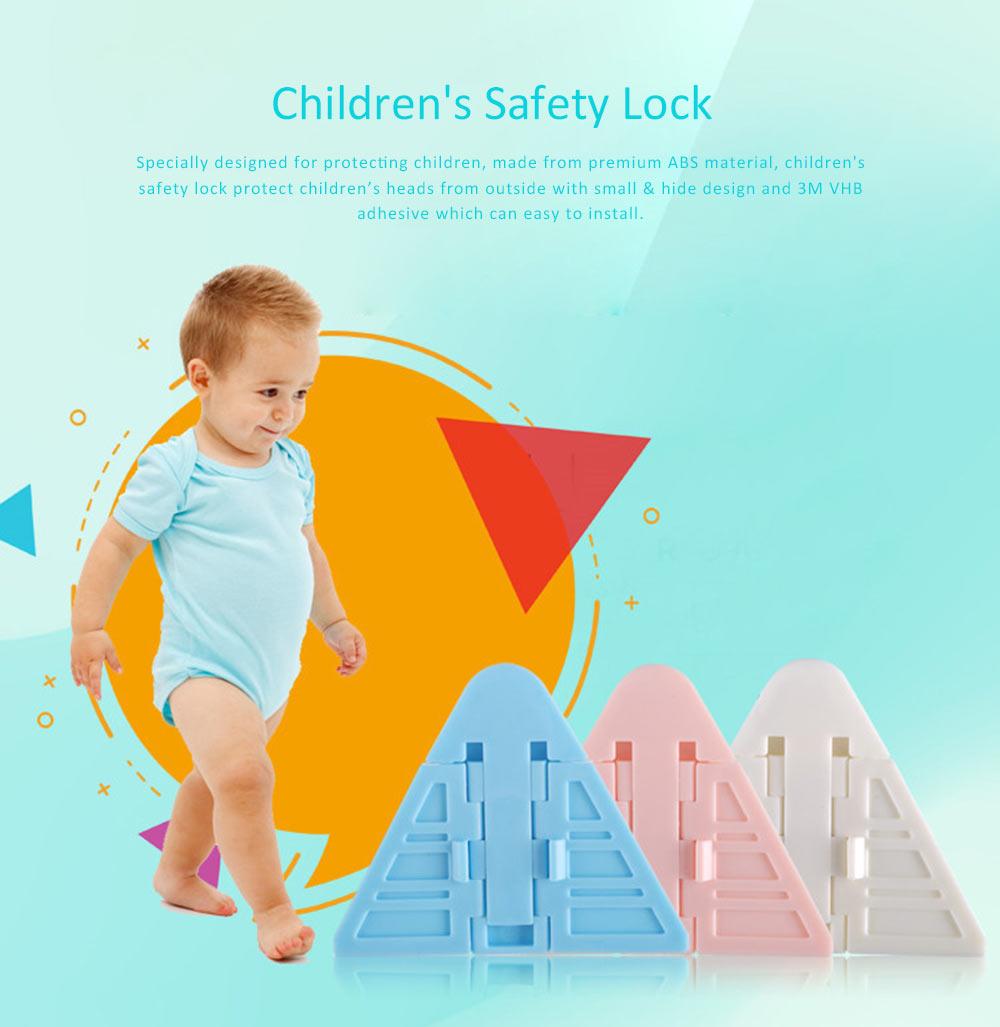 Children Safety Lock for Sliding Door Push Window, Children's Articles Door and Window Stopper 7