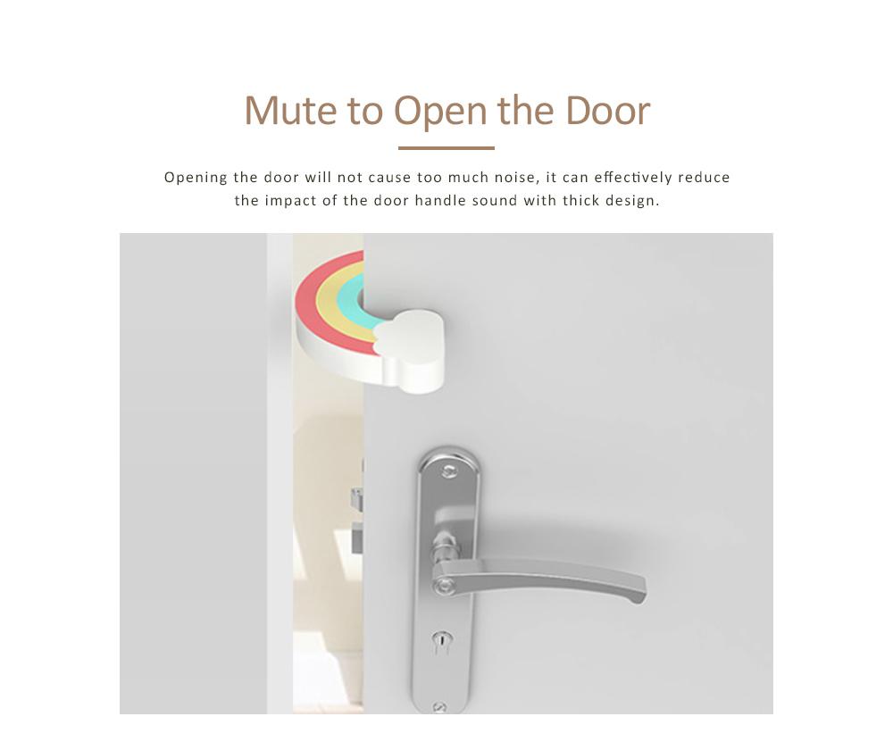 Child Safety Door Bumper Clip, Door Cards With Suspension Design For Bedrooms, Bathrooms & Kitchens 7