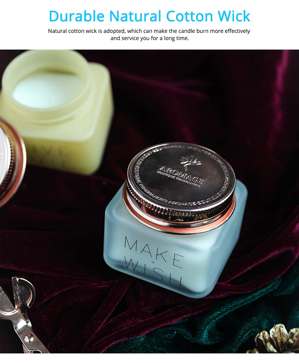 Natural Essential Oil Scented Candles with Beautiful Cosmetic Jar, Scented Candles Gift Box for Ladies Birthday Present 2