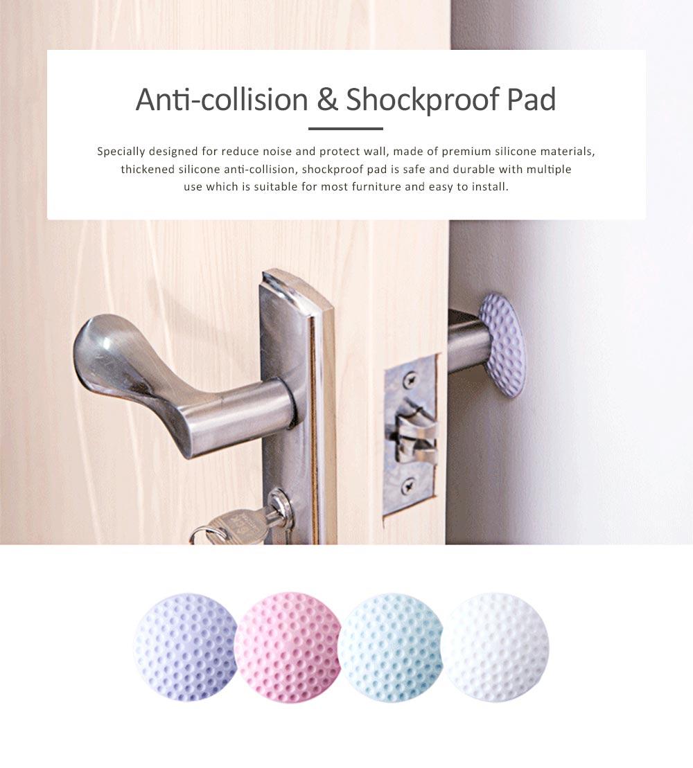 Door Handle Protective Cushion Shockproof Pad, Doorknob Crash Pads Guard Buffer Stoppers 7