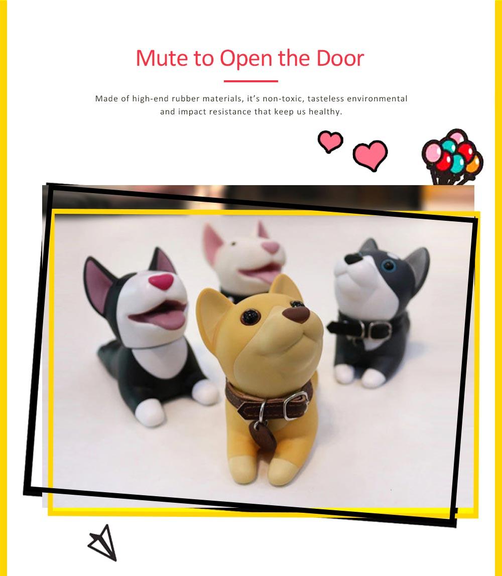 PVC Safety Door Stopper, Cute Decorative Animal Doorstop Door Wedge 1