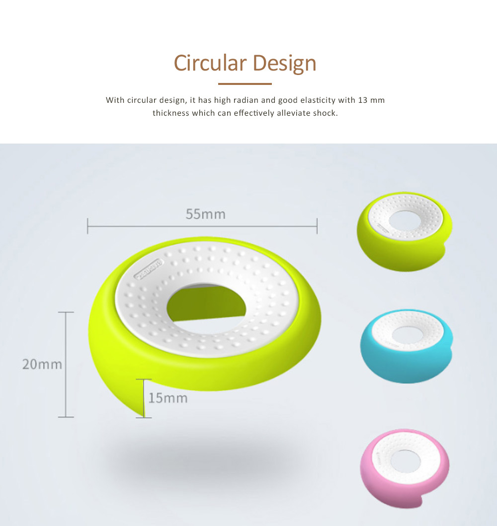 Desk Corner Protector with UFO Design, Silicone Anti-collision, Shockproof Thickened Protective Pad 13