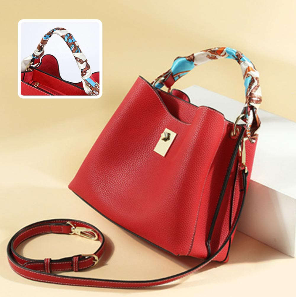Ladies Shoulder Bags, Female Cross Body Handbags, Waterproof Luxury Fashion Leather Casual Bags 10