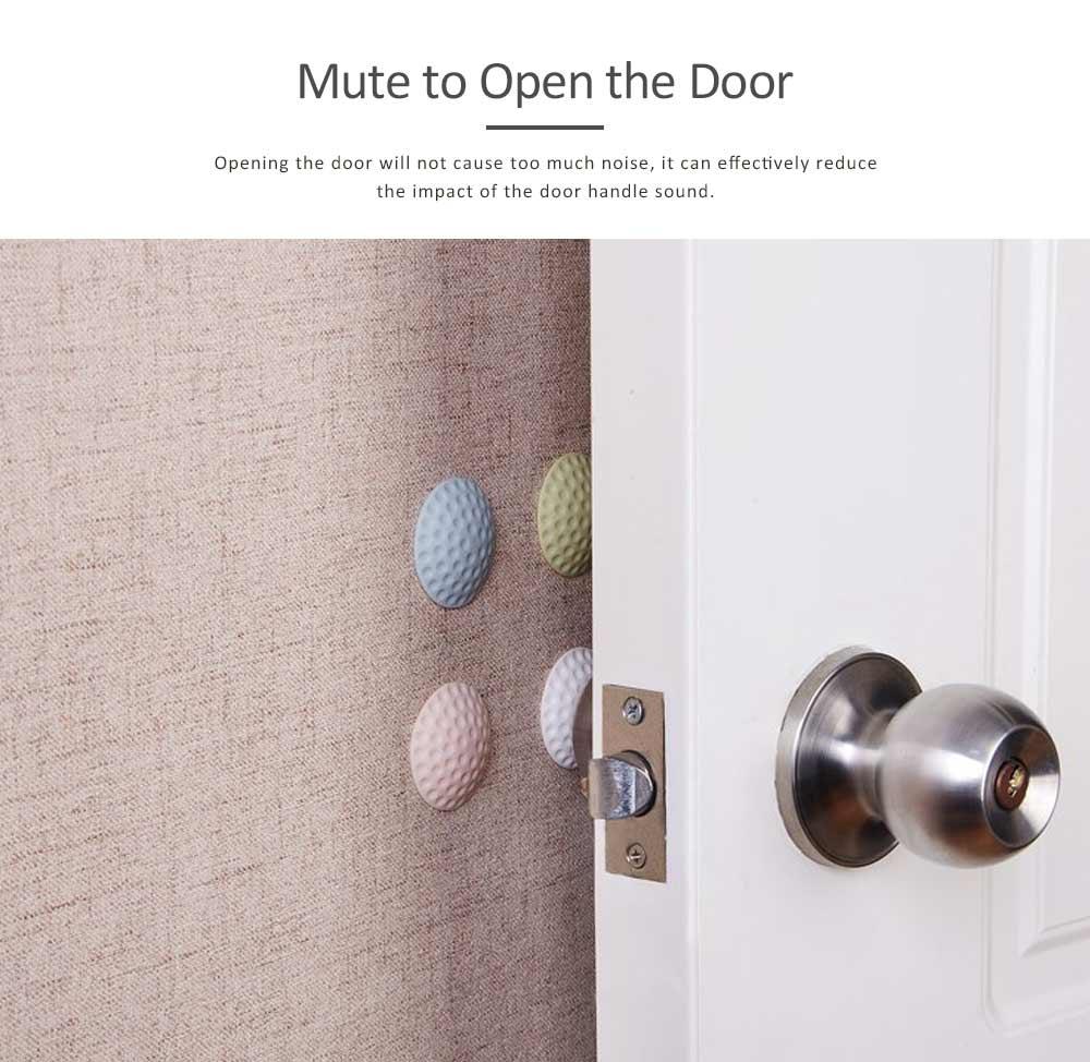 Door Handle Protective Cushion Shockproof Pad, Doorknob Crash Pads Guard Buffer Stoppers 10