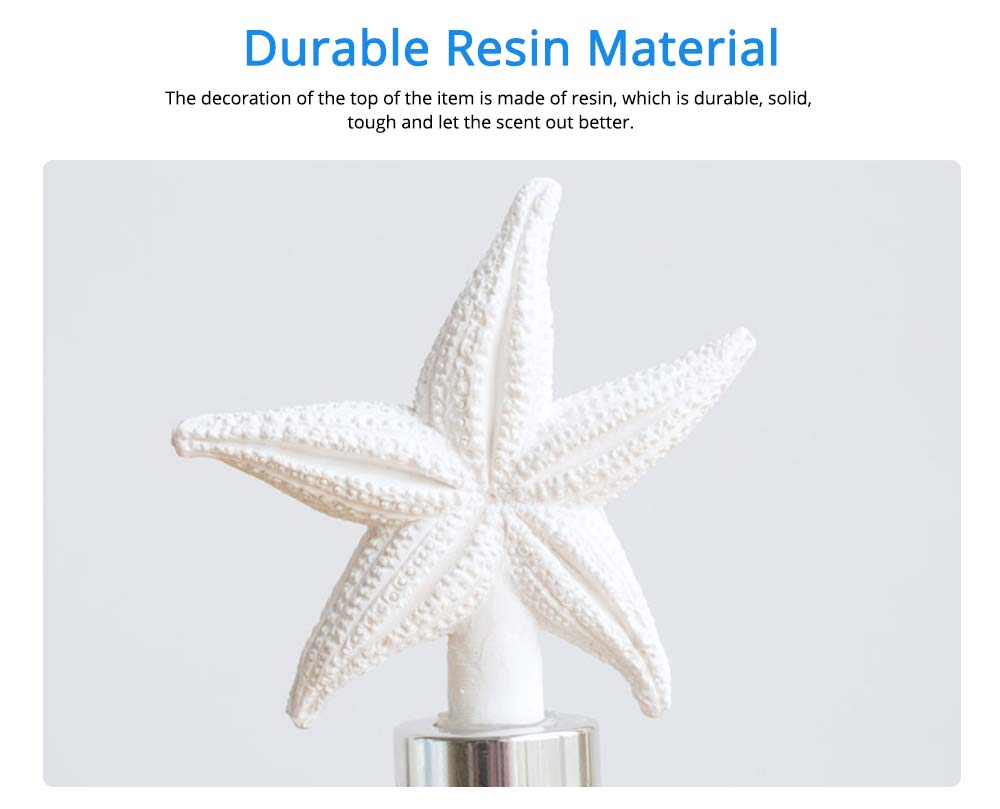 Cute Beautiful Essential Oil Aroma Reed Diffuser Decoration, Marine Life Modeling Home Living Room Romantic Healthy Spa Fragrance 1