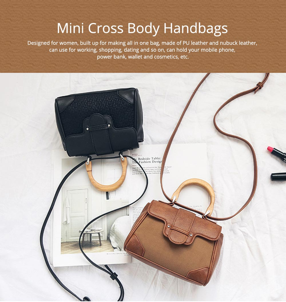 Mini Single Shoulder Bags for Ladies, Messenger Bags Female waterproof Bag Cross Body Handbags Hot Sale 12