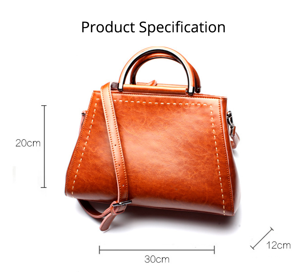 Women PU Leather Handbags, Waterproof Tote Bag for Ladies, Female Single Shoulder Crossbody Bags 8