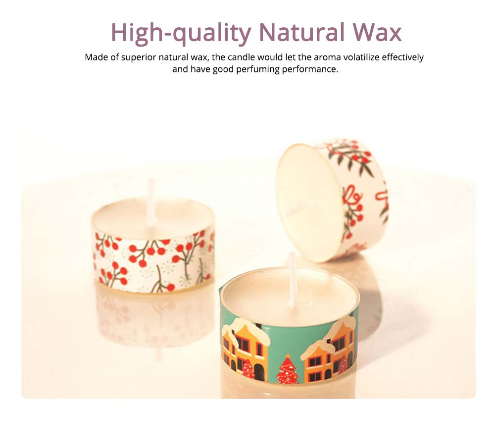 Creative Smokeless Fragrance Scented Candles 3PCS Set, Valentine's Day Christmas Present Gift Decorative Furnishing 1
