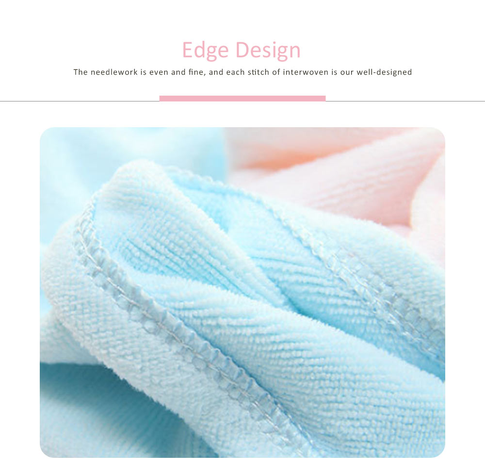 Dry Hair Cap Microfiber Bow, Soft Strong Absorbent Shower Cap 2