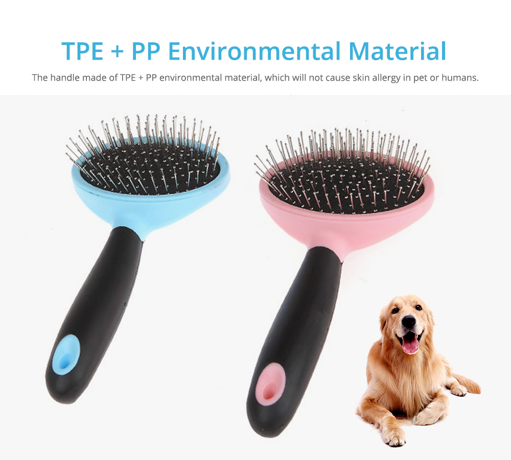 Pets Cleaning Massage Dog Comb Pet Cleaning Products, Grooming Brush Open-Knot Comb Brush for Dogs & Cats 1