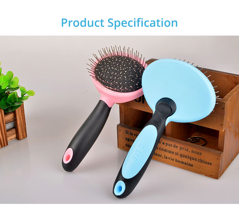 Pets Cleaning Massage Dog Comb Pet Cleaning Products, Grooming Brush Open-Knot Comb Brush for Dogs & Cats 7