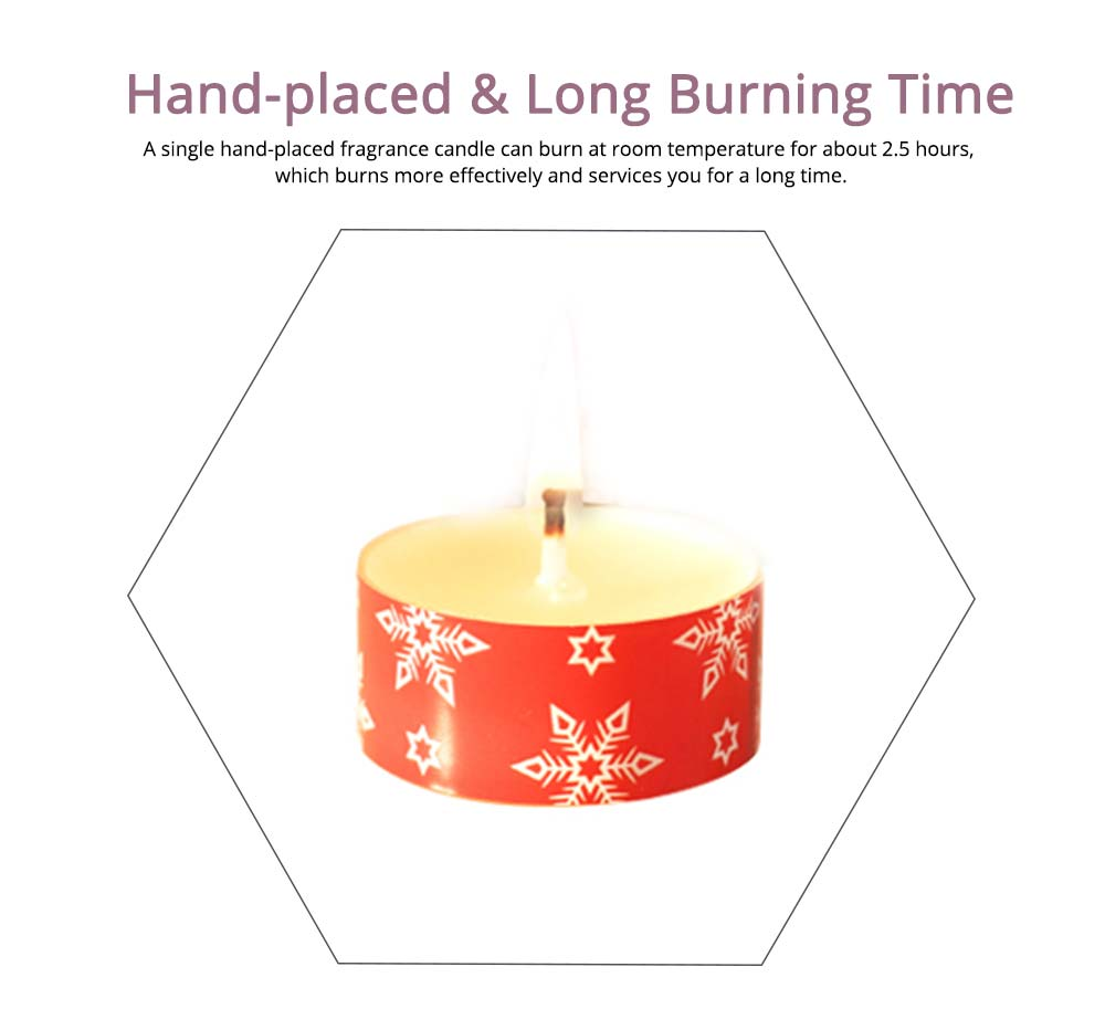 Creative Smokeless Fragrance Scented Candles 3PCS Set, Valentine's Day Christmas Present Gift Decorative Furnishing 3
