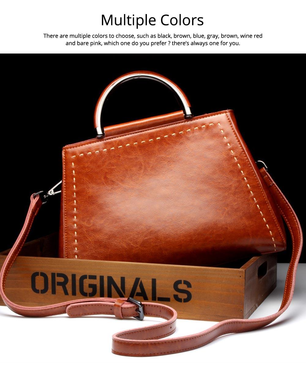 Women PU Leather Handbags, Waterproof Tote Bag for Ladies, Female Single Shoulder Crossbody Bags 6