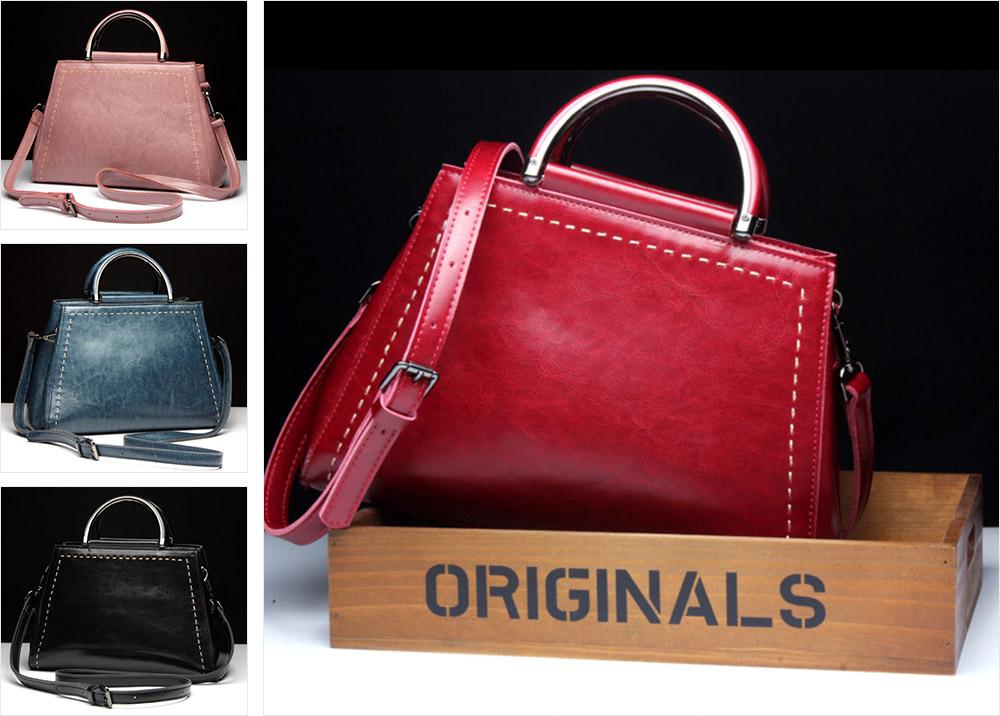 Women PU Leather Handbags, Waterproof Tote Bag for Ladies, Female Single Shoulder Crossbody Bags 7