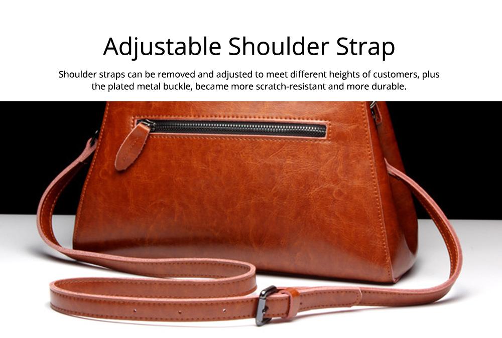 Women PU Leather Handbags, Waterproof Tote Bag for Ladies, Female Single Shoulder Crossbody Bags 5