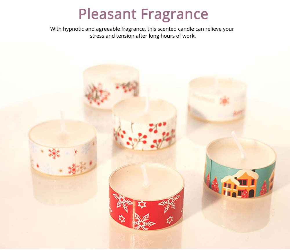 Creative Smokeless Fragrance Scented Candles 3PCS Set, Valentine's Day Christmas Present Gift Decorative Furnishing 5