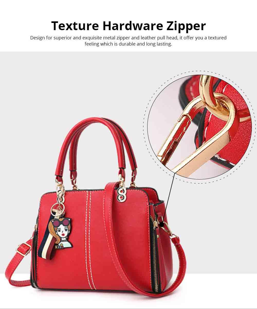 Sewing Bag Handles With High Quality Exquisite Metal Buckle, Simple Elegant One-shoulder Women's Handbag 2