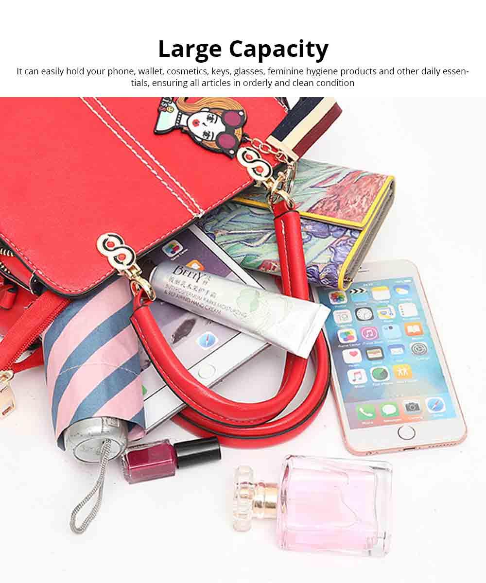Sewing Bag Handles With High Quality Exquisite Metal Buckle, Simple Elegant One-shoulder Women's Handbag 4
