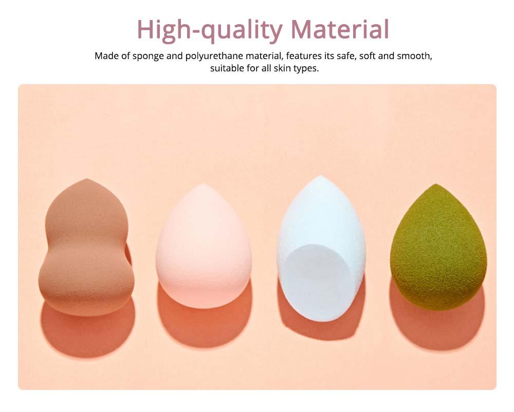 Sponge Puff for Liquid Foundation, Pressed Powder, Blusher, Makeup Tools Powder Puff 4