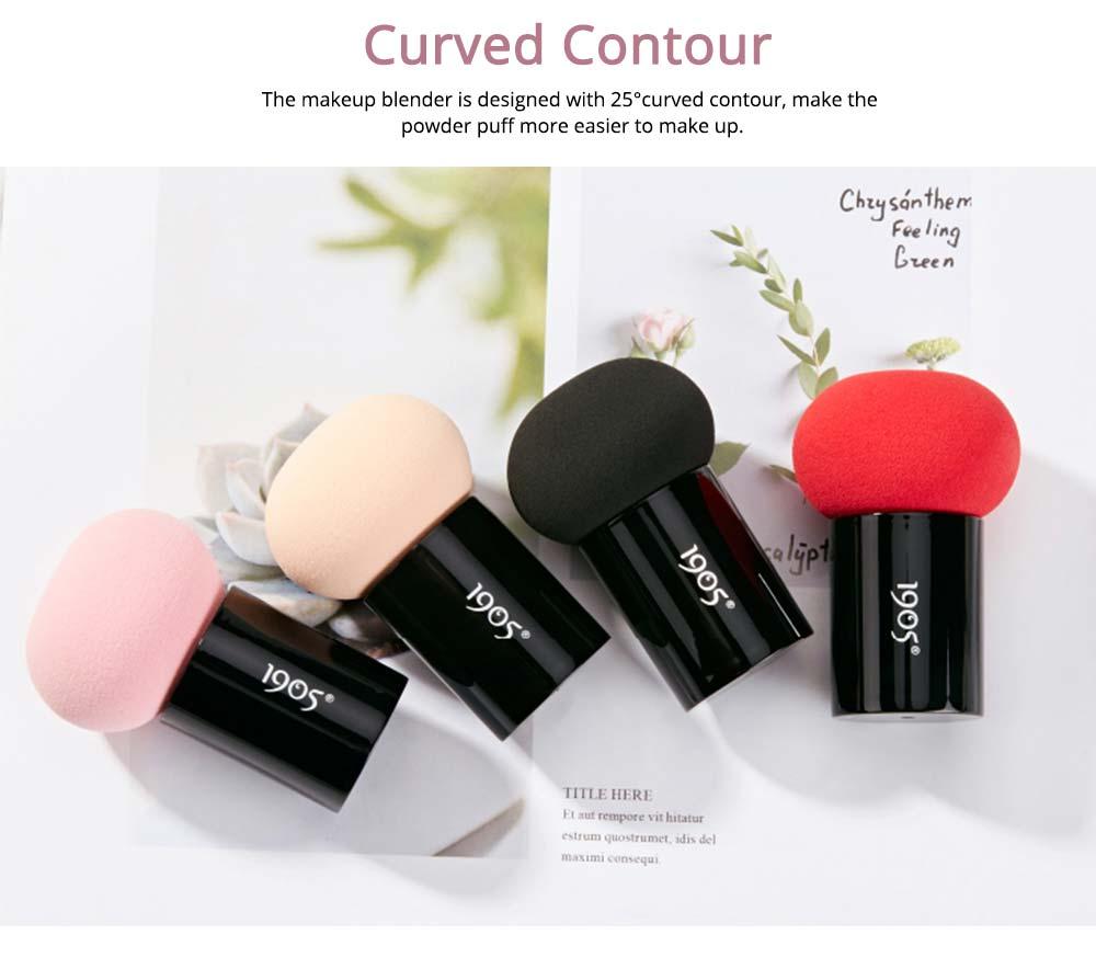 Powder Puff Sponge for Makeup, Mushroom Shape, Makeup Tool Essential Powder Puff Dry Wet Available 2