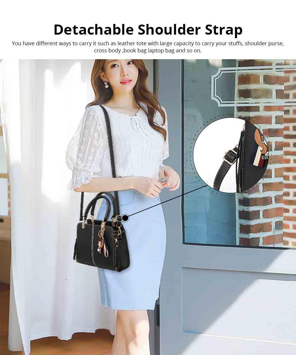 Sewing Bag Handles With High Quality Exquisite Metal Buckle, Simple Elegant One-shoulder Women's Handbag 5