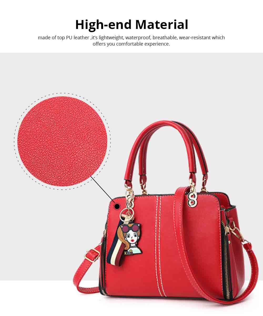 Sewing Bag Handles With High Quality Exquisite Metal Buckle, Simple Elegant One-shoulder Women's Handbag 1