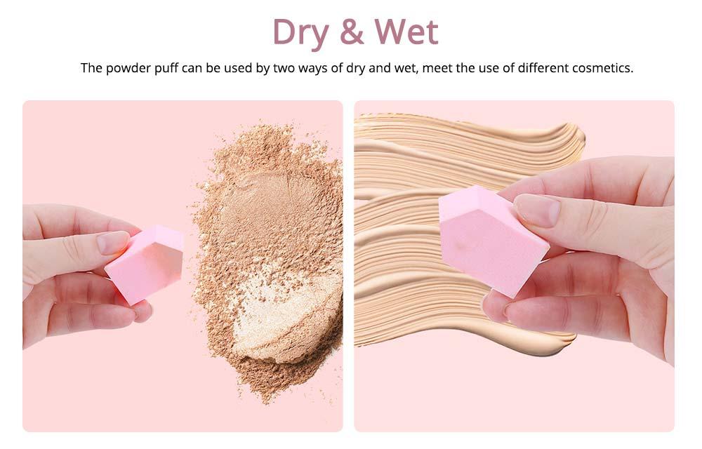 Sponge Powder Puff for Female, One-time Beauty Makeup Blender Wet Dry, 20PCS 4