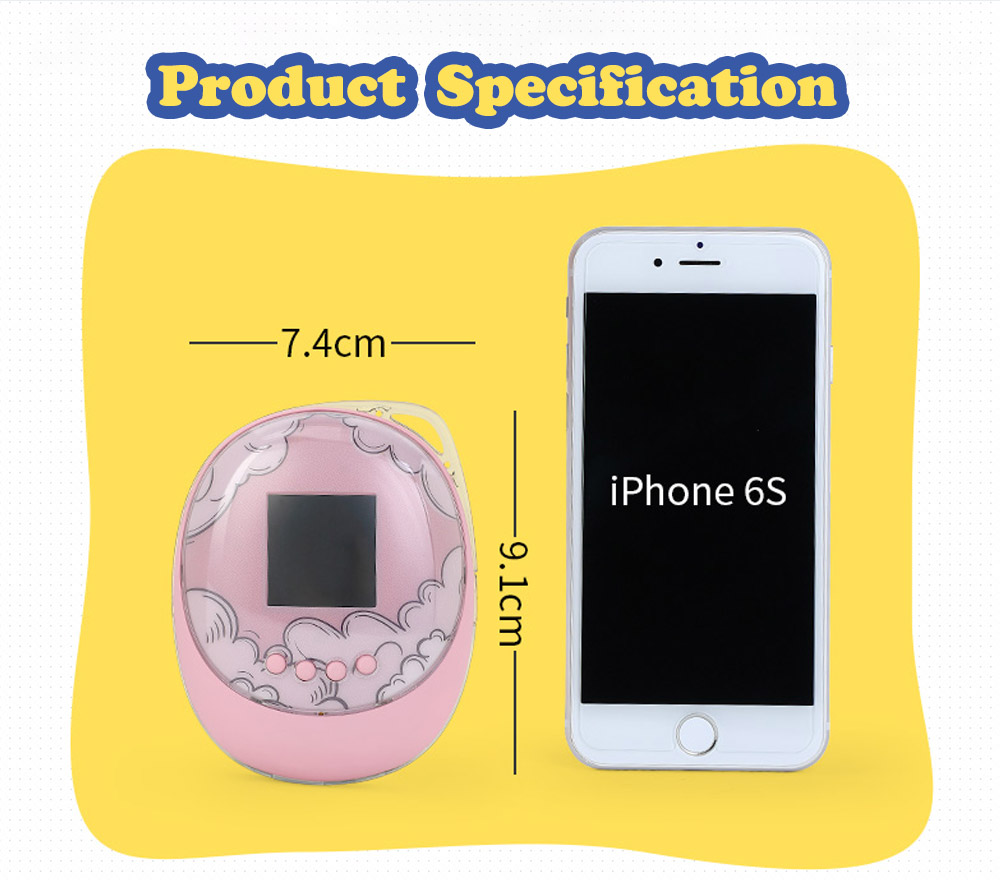 Creative Silicone USB Charger Hand Warmer, Portable Multifunctional Large Capacity Power Bank with Funny Electronic Game 13