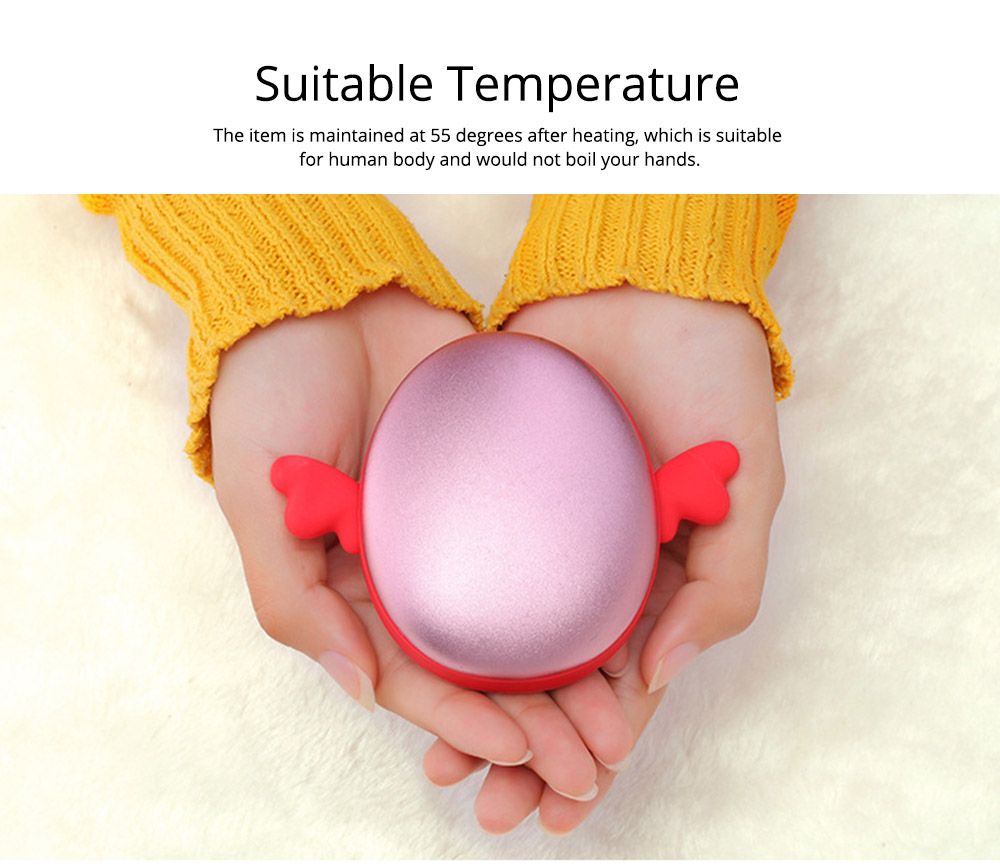 Multifunctional Power Bank Pocket Hand Warmer Heater, Breaking Proof, Cute Animal Shape 4