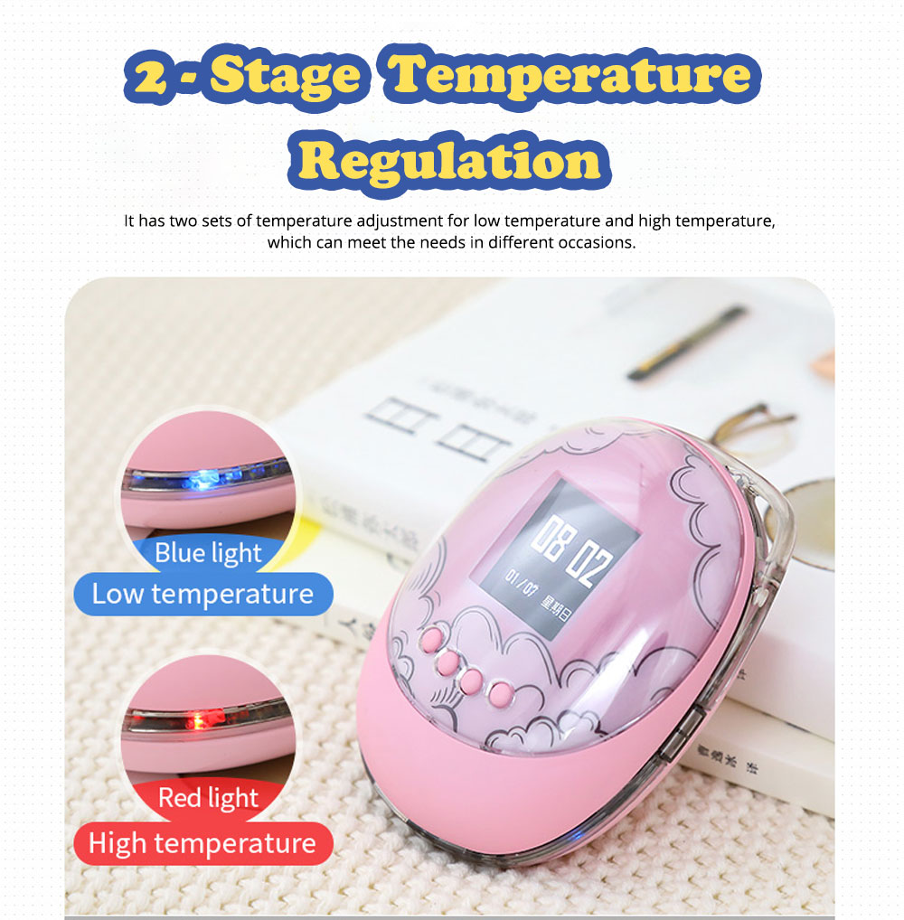 Creative Silicone USB Charger Hand Warmer, Portable Multifunctional Large Capacity Power Bank with Funny Electronic Game 3