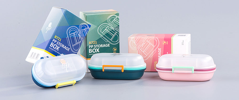 Mini Double Layer Medicine Storage Box, Portable Plastic First Aid Medicine Case, Pill Box for Home, Office, Dormitory 6