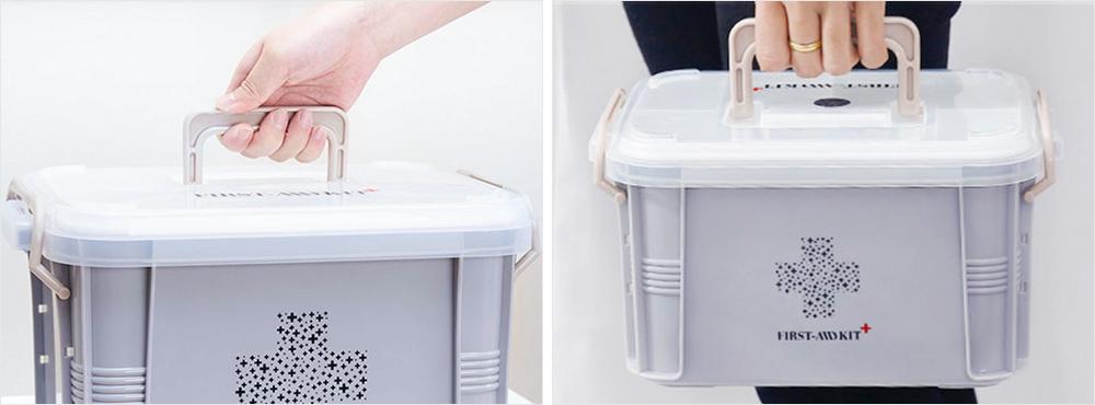 Portable Medicine Storage Case, Multi-layer Emergency Medicine Box for Home, Office, Dormitory Essentials 5