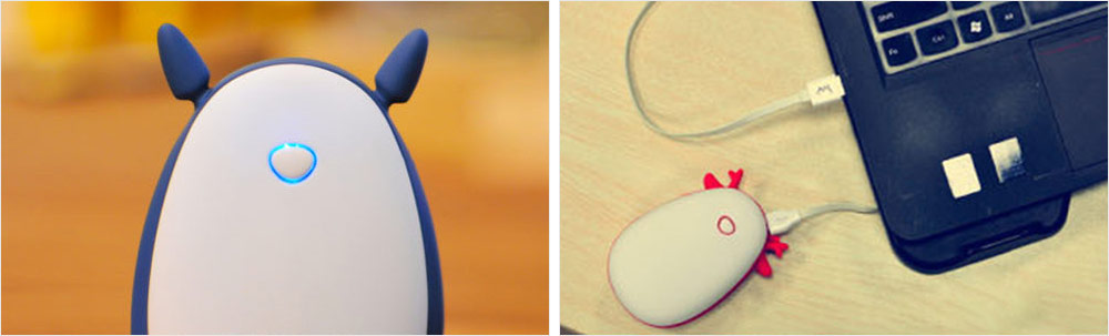 Mini Power Bank Hand Warmer, Creative Cute Animal Pattern Portable Pocket Heater, Large Capacity, USB Charger 13