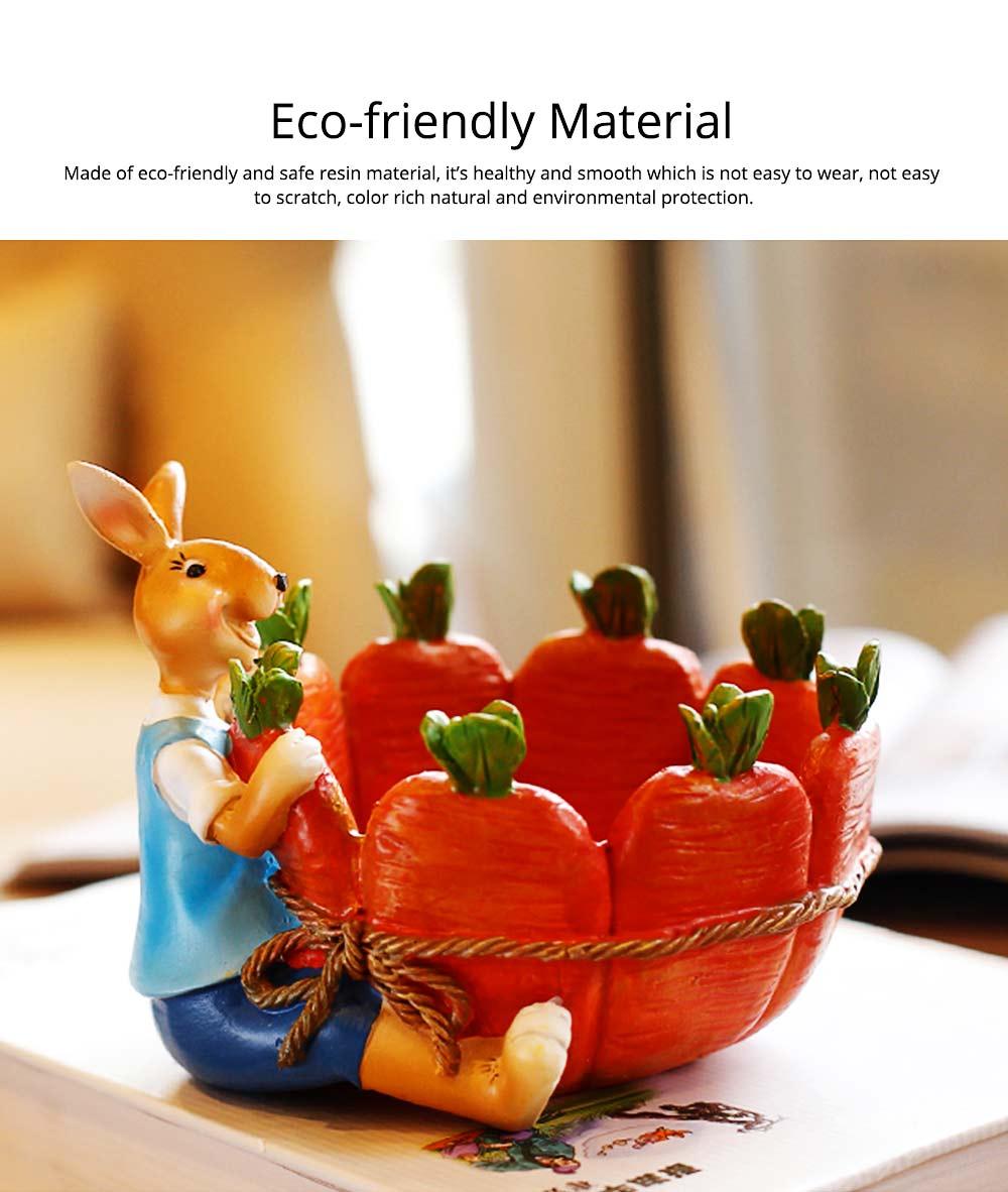 Succulent Flower pot, Lovely Cartoon Rabbit with Flower Pot Design for Birthday or Easter Present 1