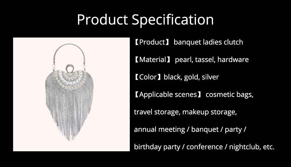 Tassel Evening Bag, Luxury Female Clutch, Mini Heart-shaped Polyester Dress Clutch 2019 15