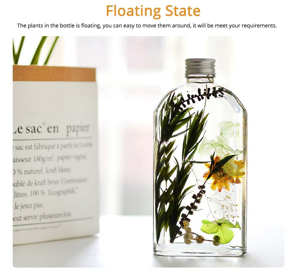 Preserved Flower Floating Herbarium Glass Bottle Decoration for Gift 1