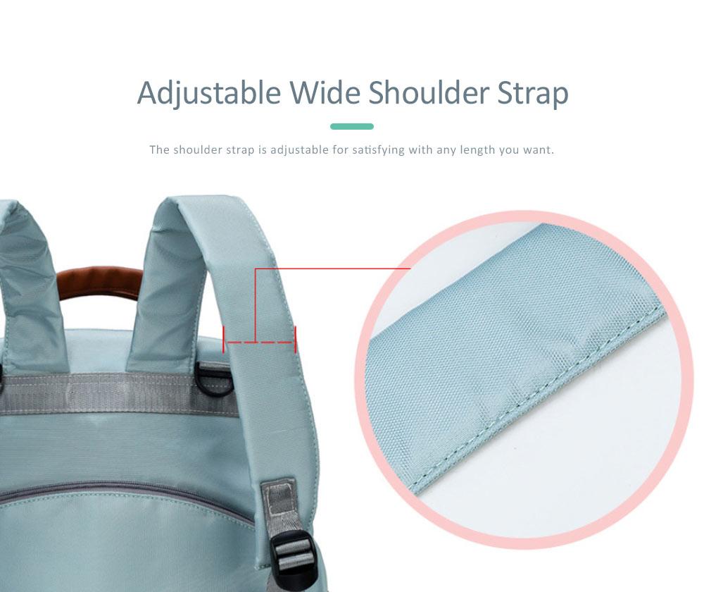Mommy Diaper Backpack, Stylish Travel Backpacks Shoulder Bag For Women 4