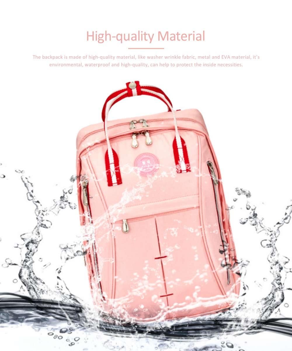 Stylish Mom Backpack, Backpack Diaper Bag for Mummy, Multipurpose New Women Shoulder Bag 1