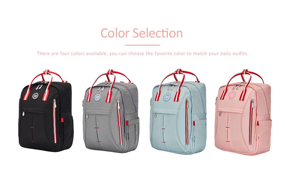 Stylish Mom Backpack, Backpack Diaper Bag for Mummy, Multipurpose New Women Shoulder Bag 4