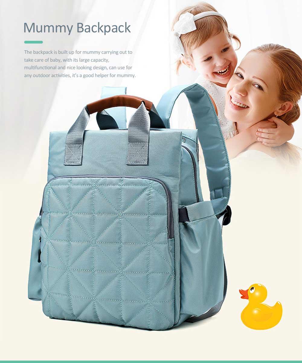 Mommy Diaper Backpack, Stylish Travel Backpacks Shoulder Bag For Women 0