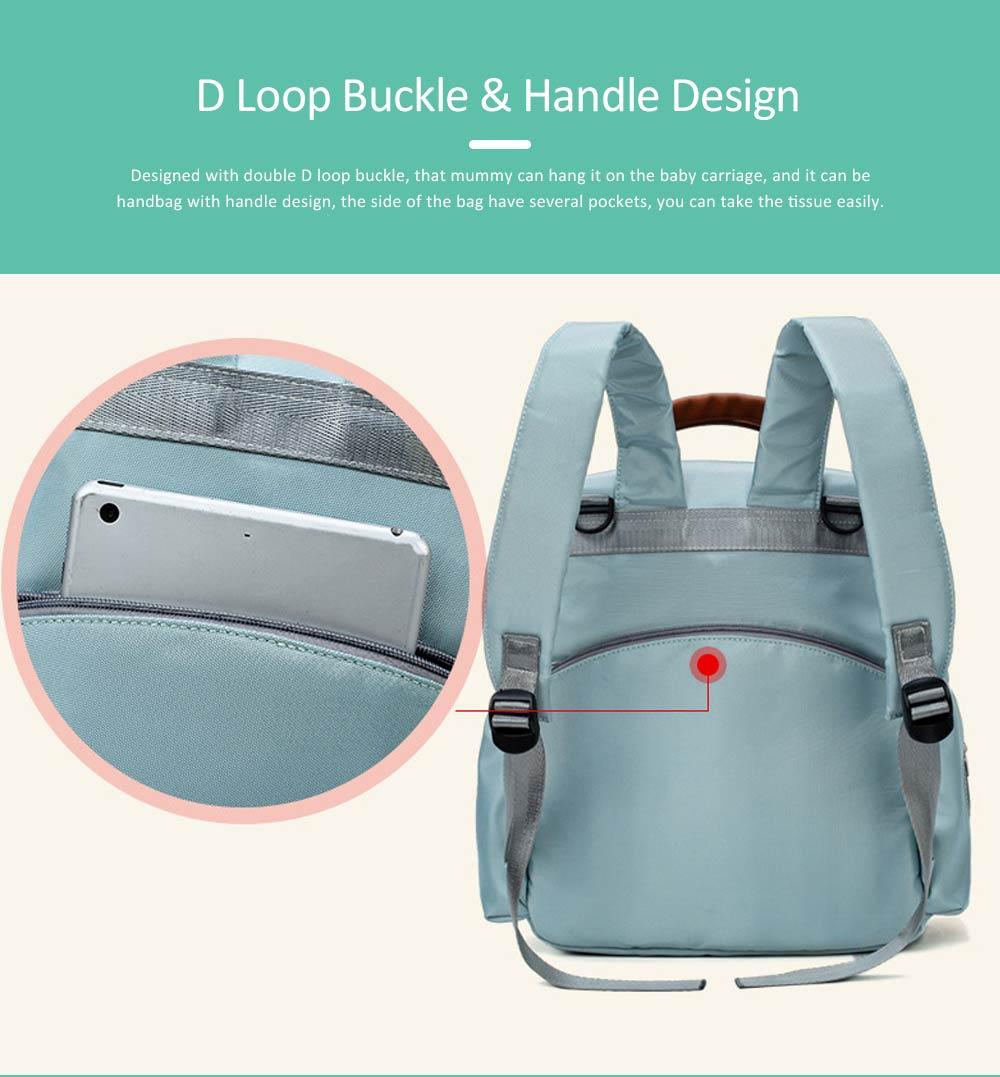 Mommy Diaper Backpack, Stylish Travel Backpacks Shoulder Bag For Women 2