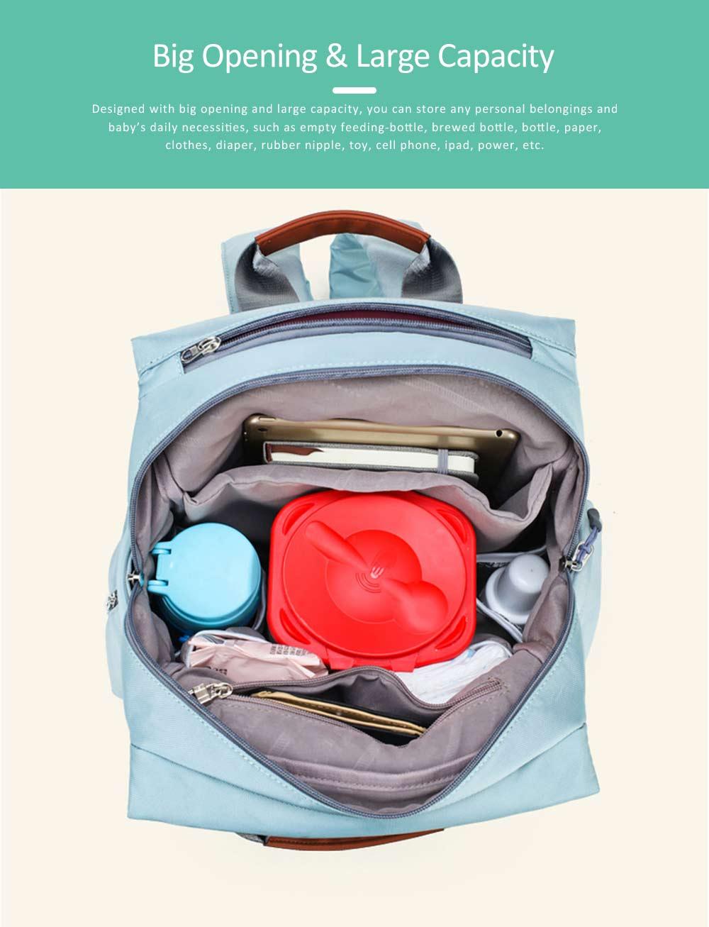 Mommy Diaper Backpack, Stylish Travel Backpacks Shoulder Bag For Women 1