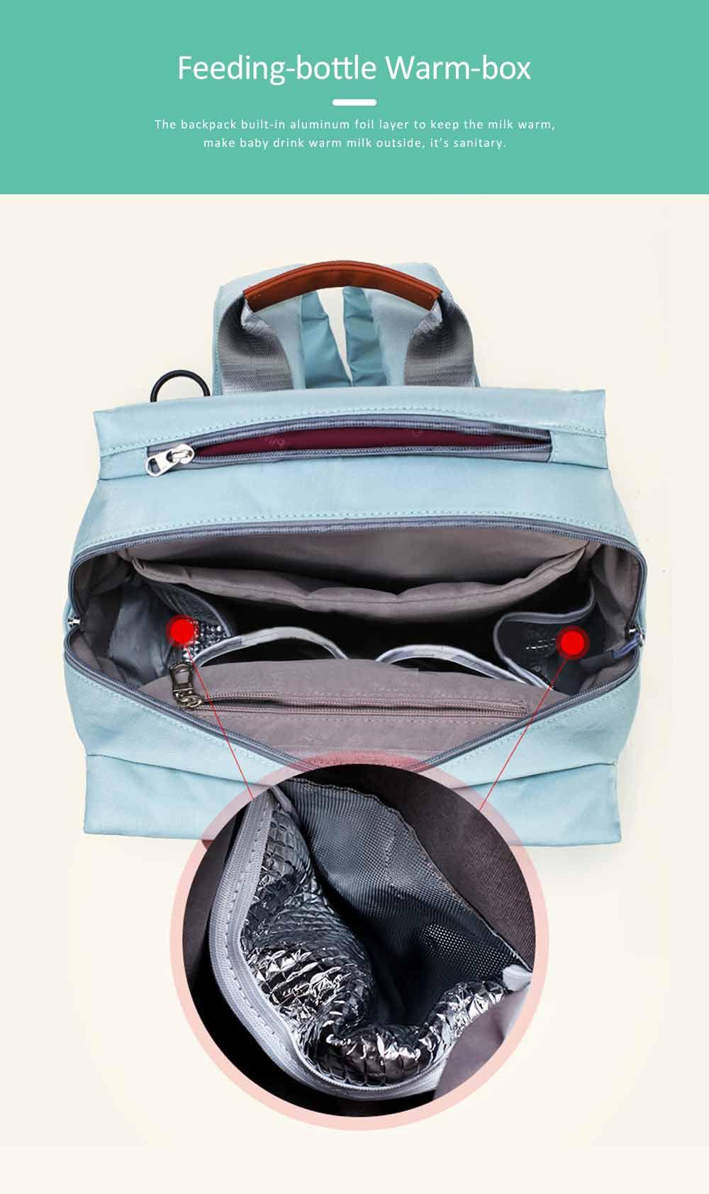Mommy Diaper Backpack, Stylish Travel Backpacks Shoulder Bag For Women 6