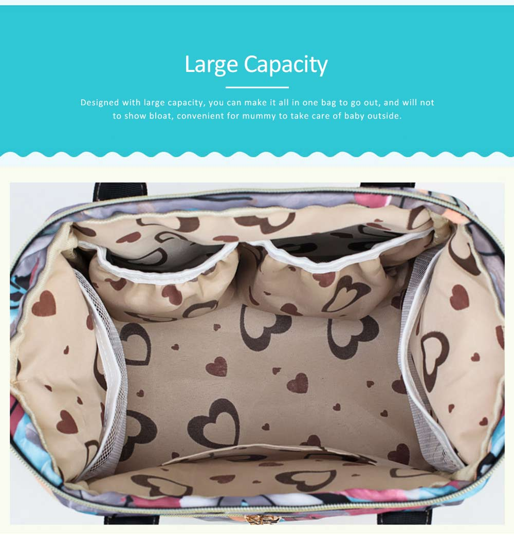 New Women Backpack Oxford Multifunctional Bag for Carrying Baby's Brings Diaper Warm-box Mummy Pack 5