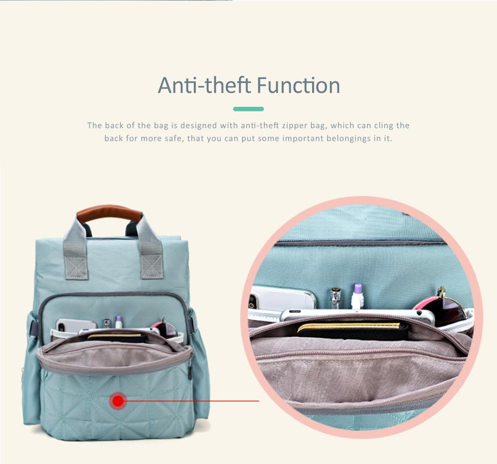 Mommy Diaper Backpack, Stylish Travel Backpacks Shoulder Bag For Women 5