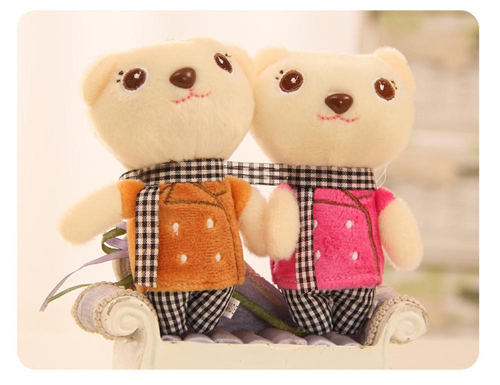 Windbreaker Rabbit Plush Toy, Bunny Bear Doll Small Pendant For Children And Shopping Mall Furnishings 7