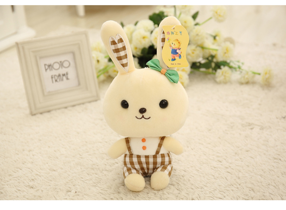 Bunny Plush Toy Grab Doll Machine Doll Cute Gege Rabbit Doll Festival Activities Gift 6