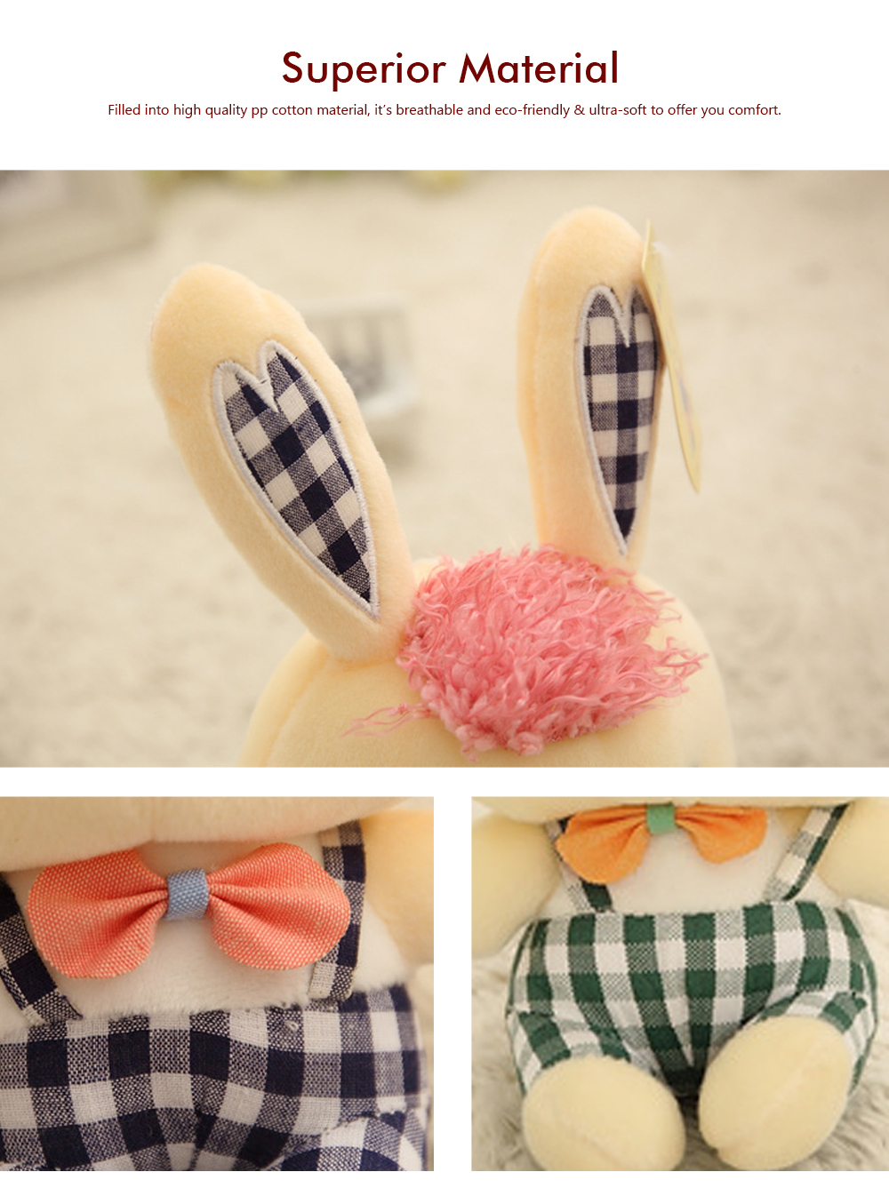 Bunny Plush Toy Grab Doll Machine Doll Cute Gege Rabbit Doll Festival Activities Gift 1